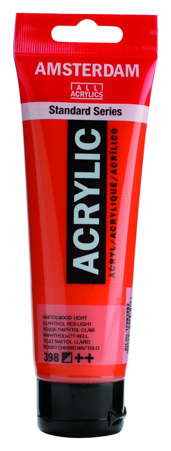 Ams std 398 Naphtol red Light - 120 ml