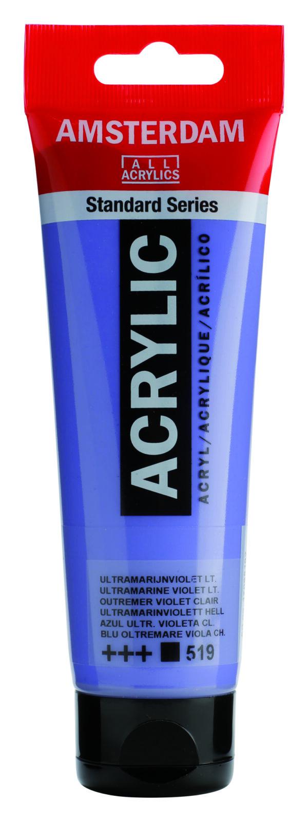Ams std 519 Ultramarine violet Light - 120 ml