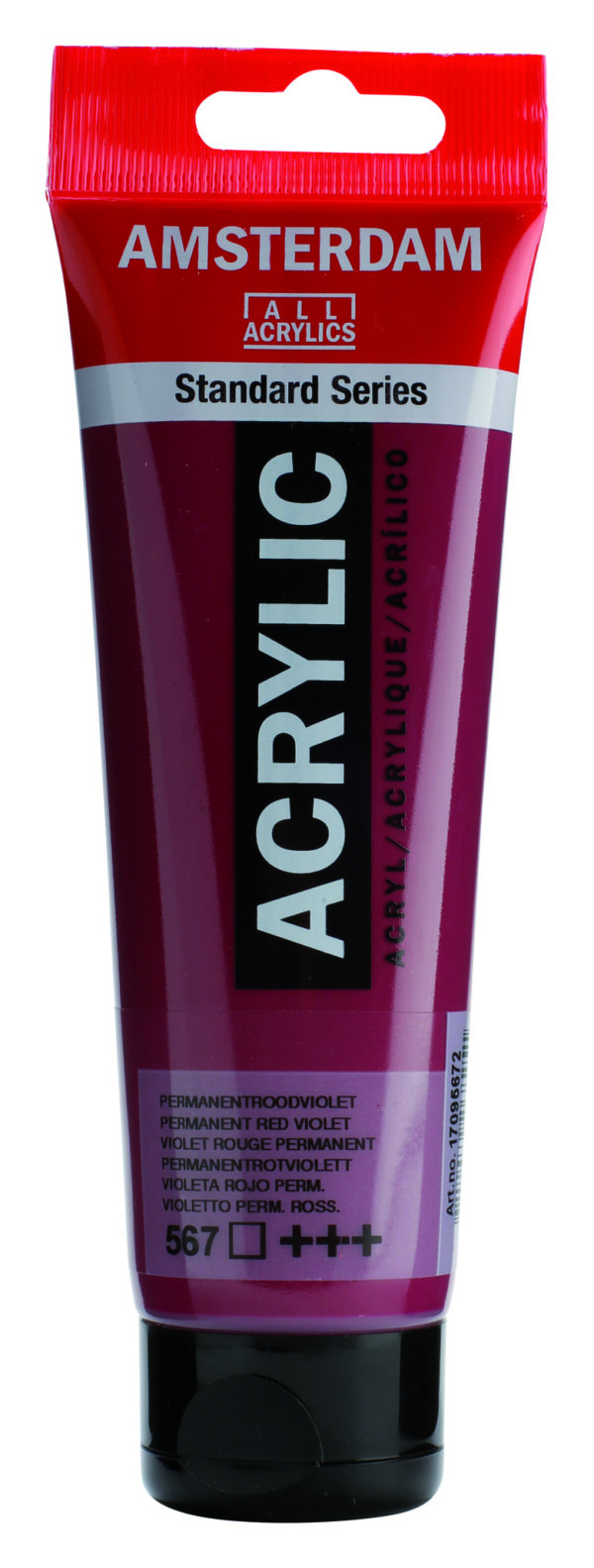 Ams std 567 Permanent red violet - 120 ml
