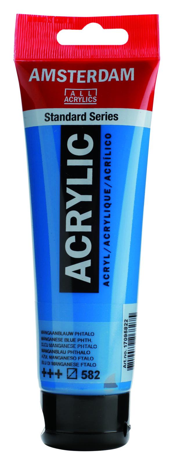 Ams std 582 Mangan. Blue phthalo - 120 ml