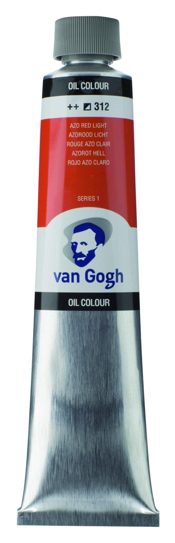 Van Gogh 312 Azo red Light - 200 ml