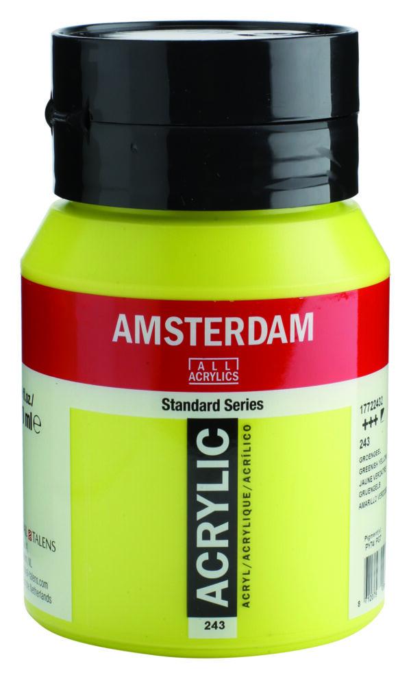 Ams std 243 Greenish yellow - 500 ml