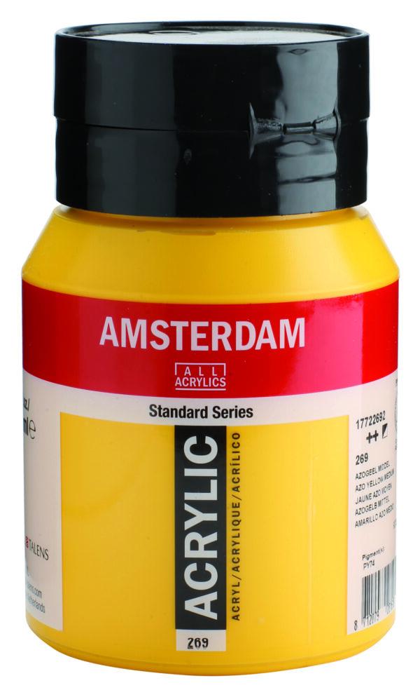 Ams std 269 Azo yellow Medium - 500 ml