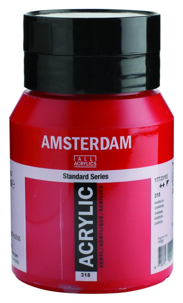 Ams std 318 Carmine - 500 ml
