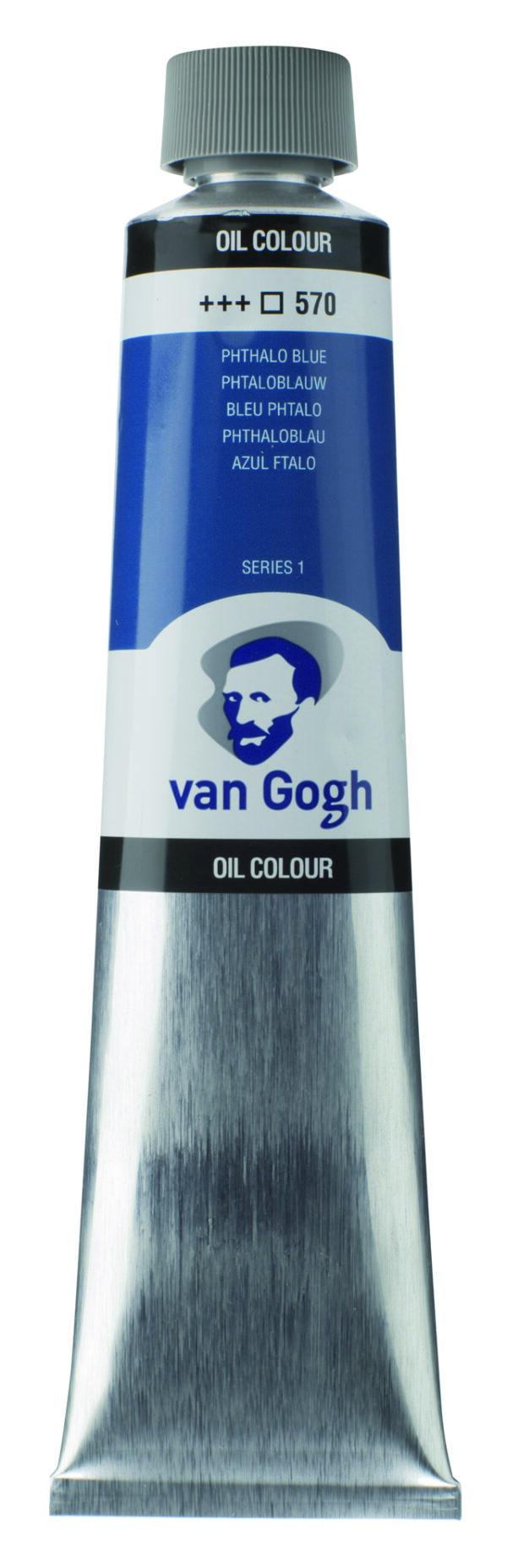 Van Gogh 570 Phthalo blue - 200 ml