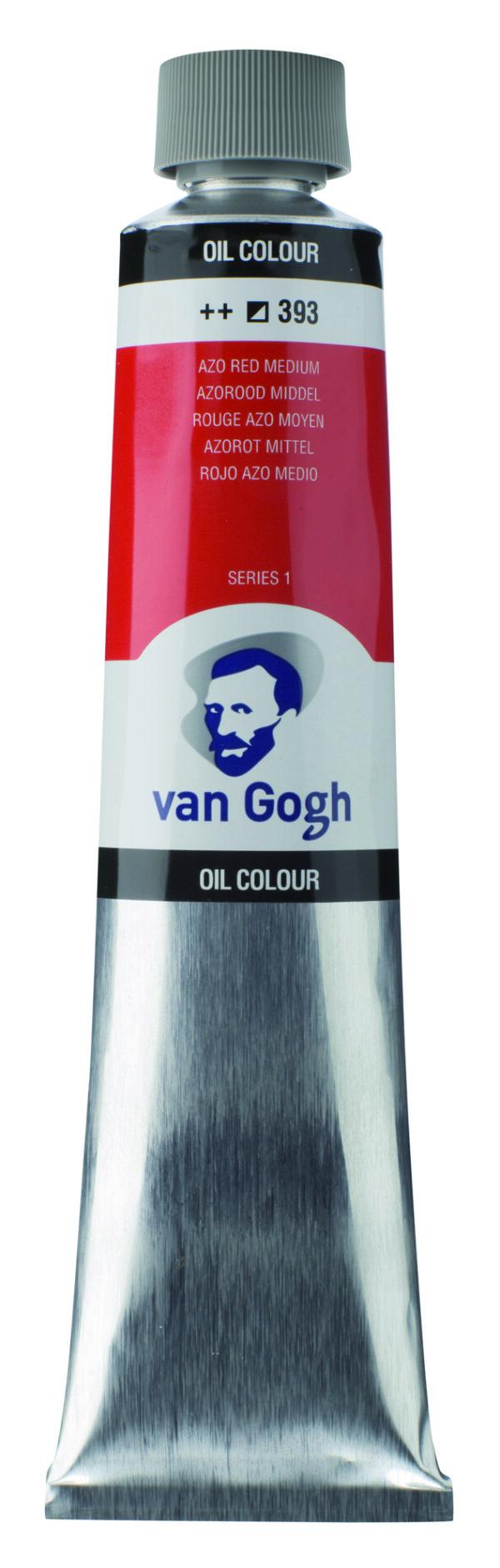 Van Gogh 393 Azo red Medium - 200 ml