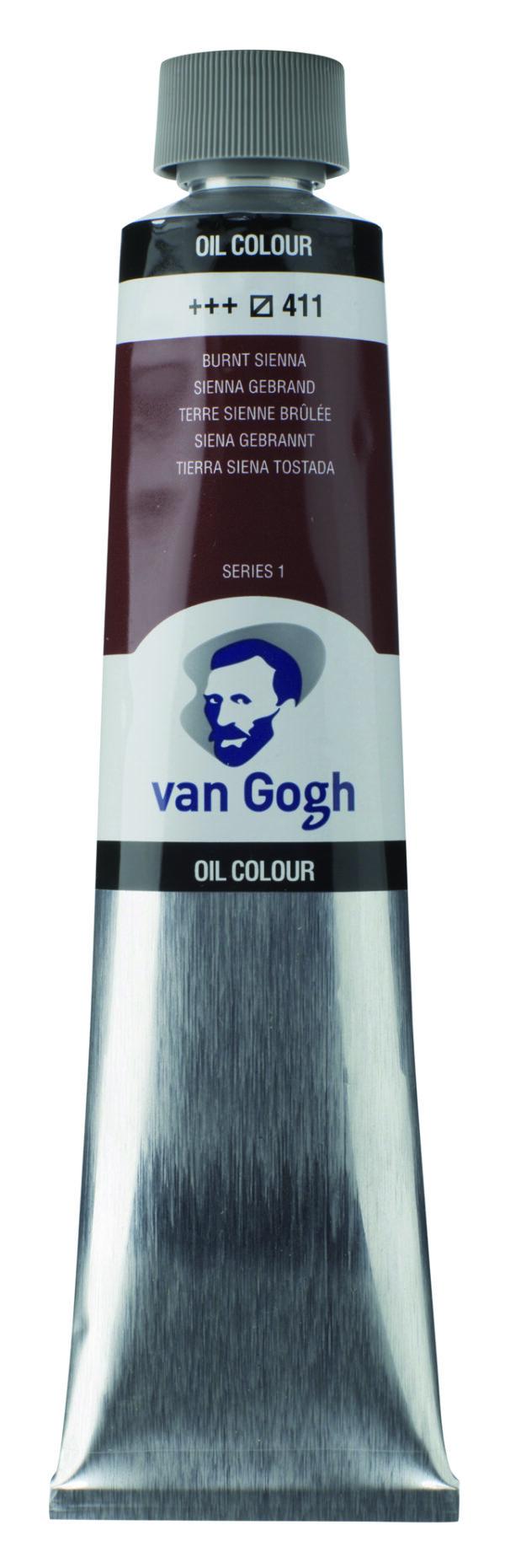 Van Gogh 411 Burnt sienna - 200 ml