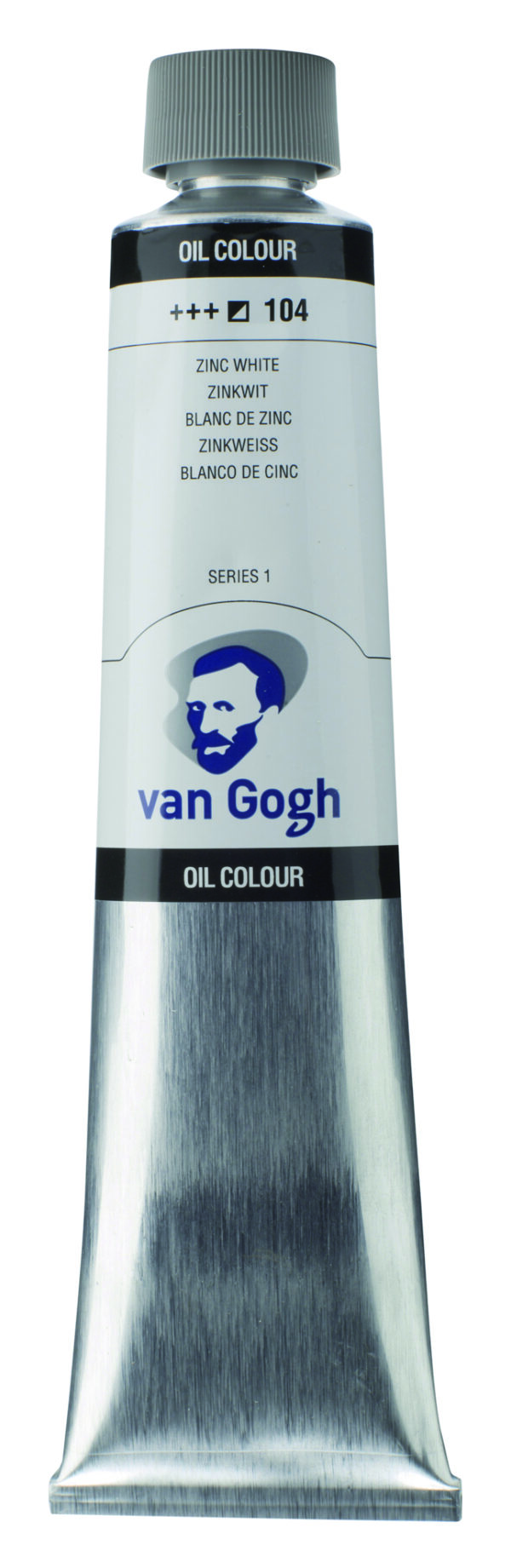 Van Gogh 104 Zink white (safflor oil) - 200 ml