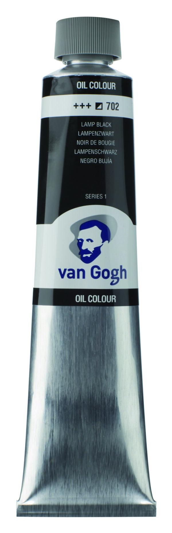 Van Gogh 702 Lamp black - 200 ml