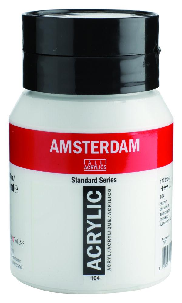 Ams std 104 Zinc white - 500 ml