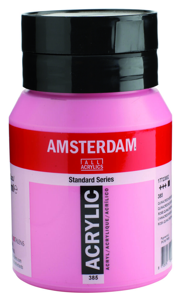 Ams std 385 Quinacidone rose Light - 500 ml