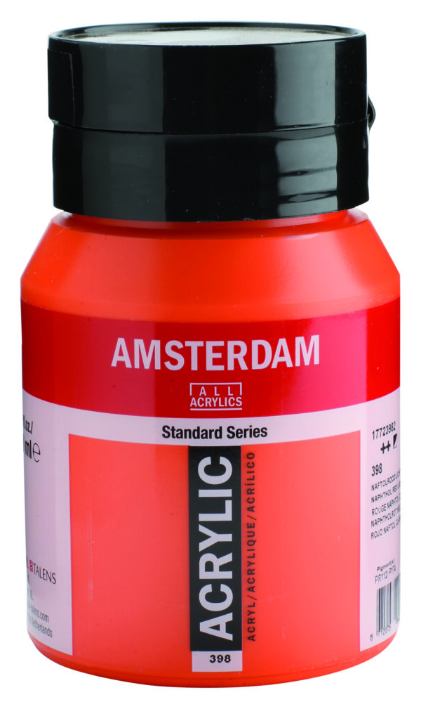 Ams std 398 Naphtol red Light - 500 ml