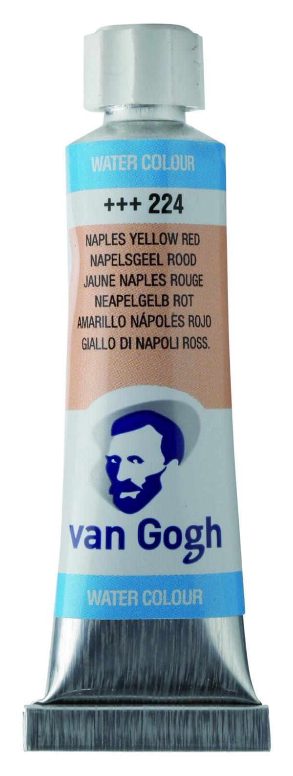 Van Gogh 224 Naples yellow red - 10 ml