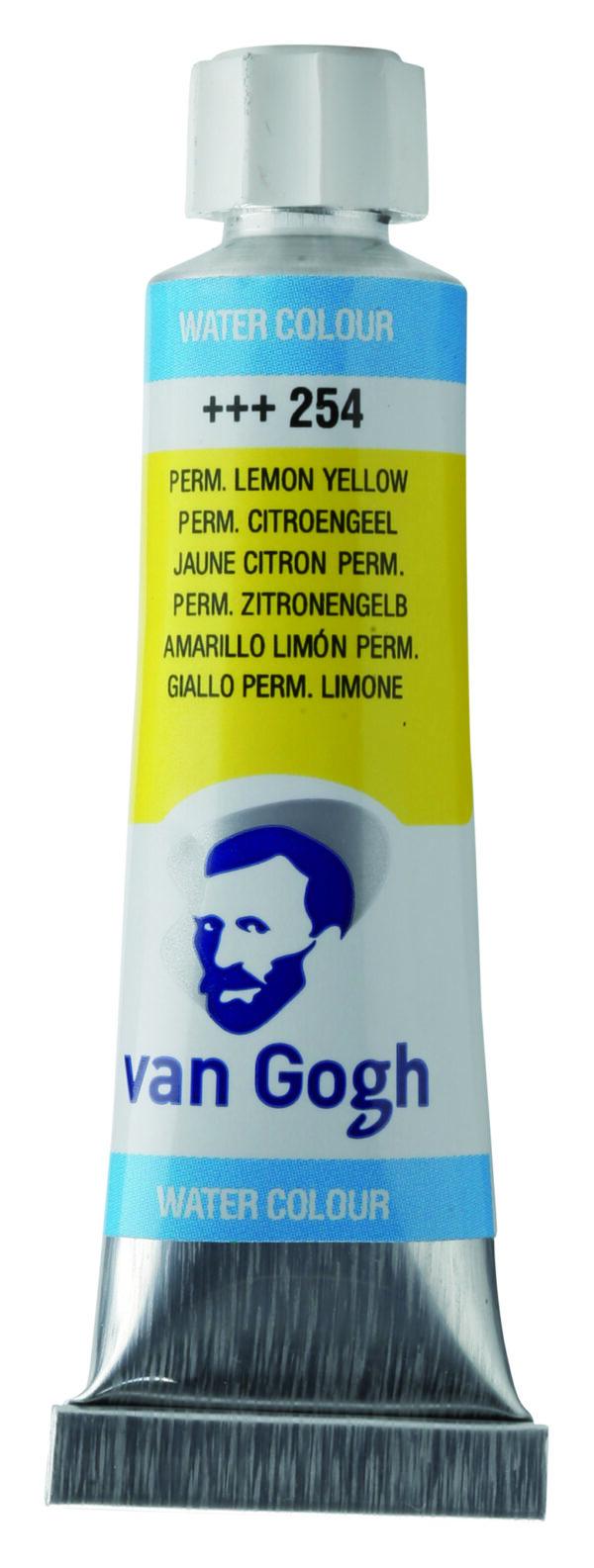 Van Gogh 254 Permanent lemon yellow - 10 ml