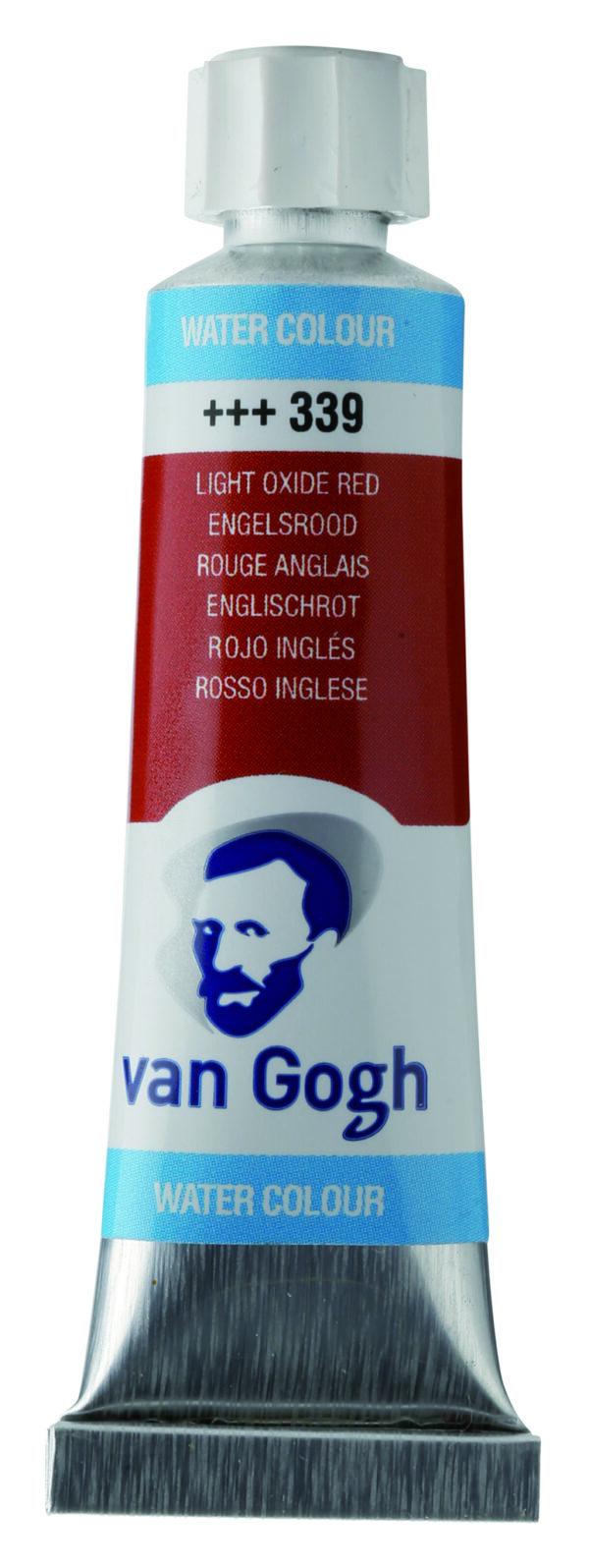 Van Gogh 339 Light oxide red - 10 ml