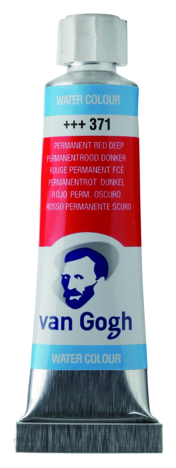 Van Gogh 371 Permanent red Deep - 10 ml