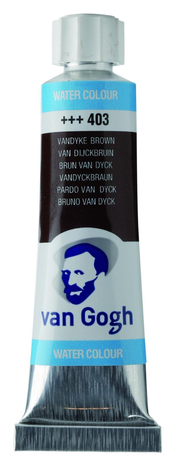 Van Gogh 403 Vandyke brown - 10 ml