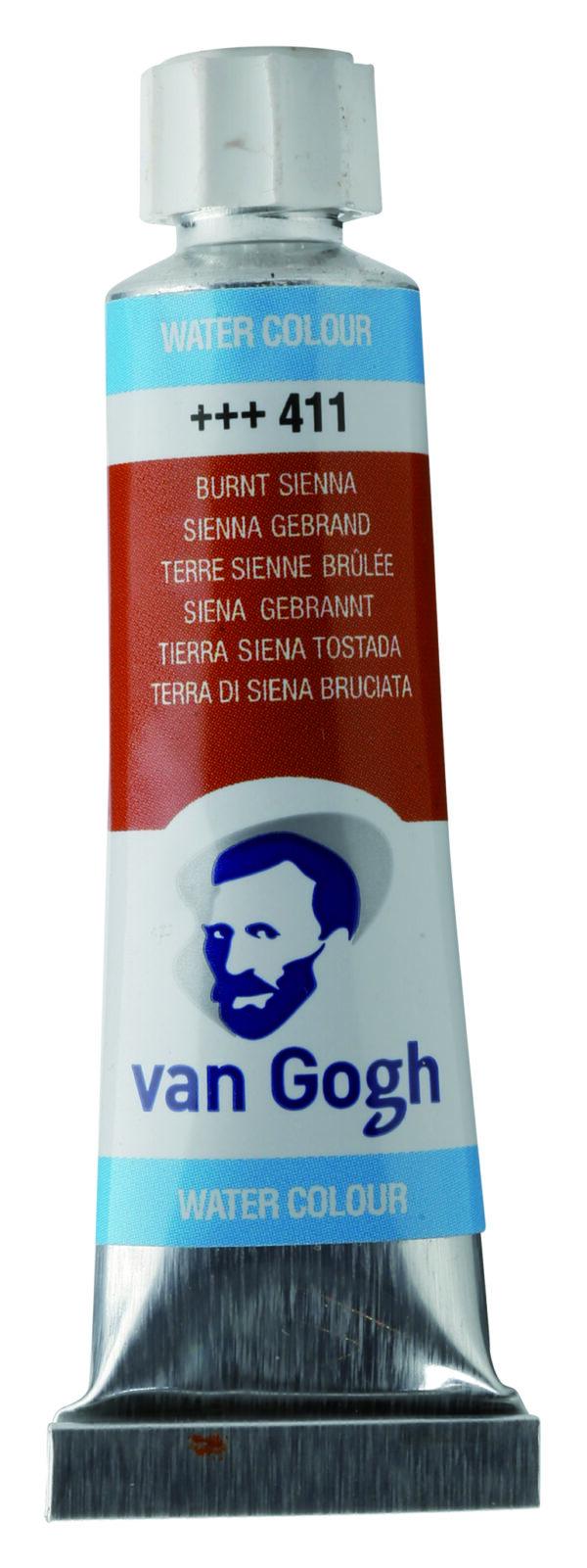 Van Gogh 411 Burnt sienna - 10 ml