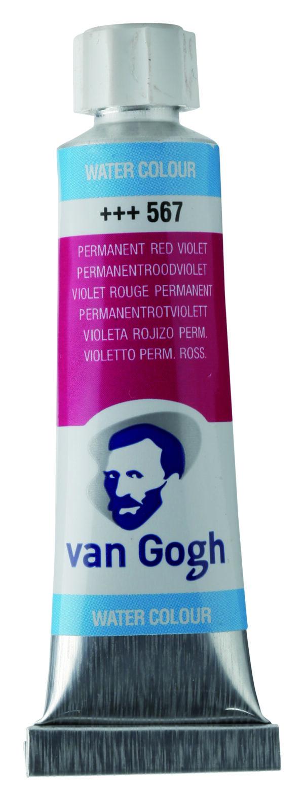 Van Gogh 567 Permanent red violet - 10 ml