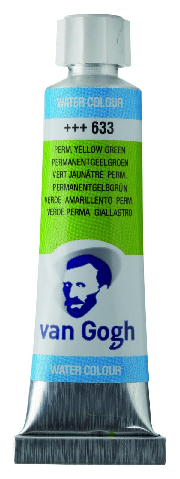 Van Gogh 633 Permanent yellowish green - 10 ml