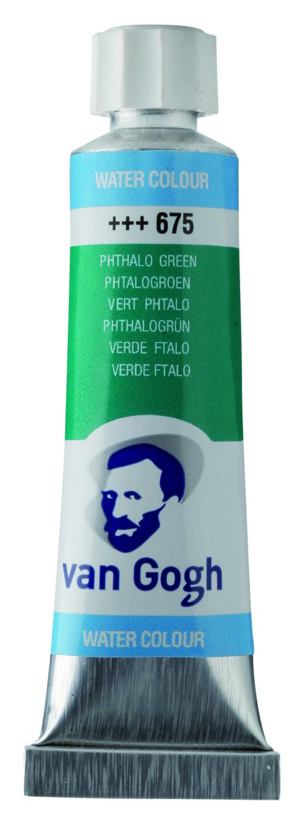 Van Gogh 675 Phthalo green - 10 ml