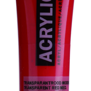 Ams std 317 Transparent red Medium - 20 ml