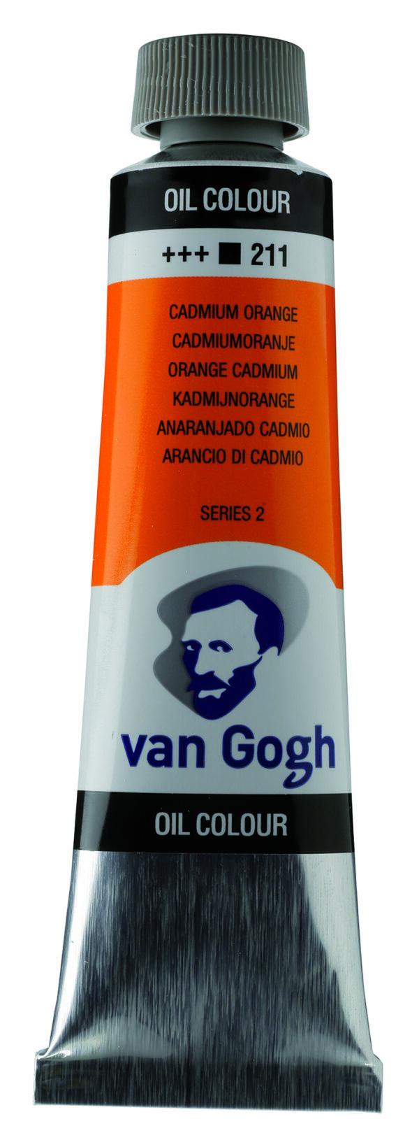 Van Gogh 211 cadmium orange - 40 ml