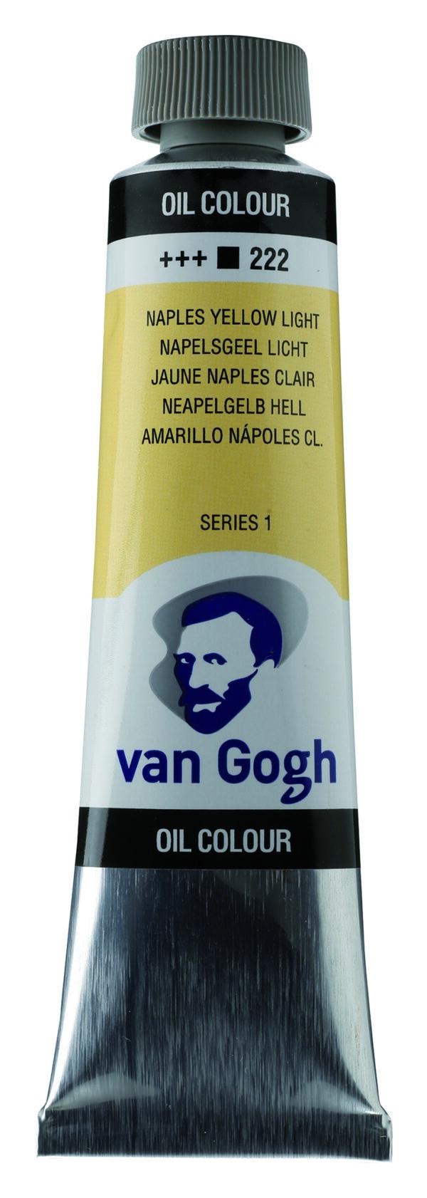 Van Gogh 222 Naples yellow Light - 40 ml