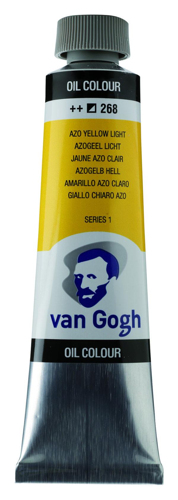Van Gogh 268 Azo yellow Light - 40 ml