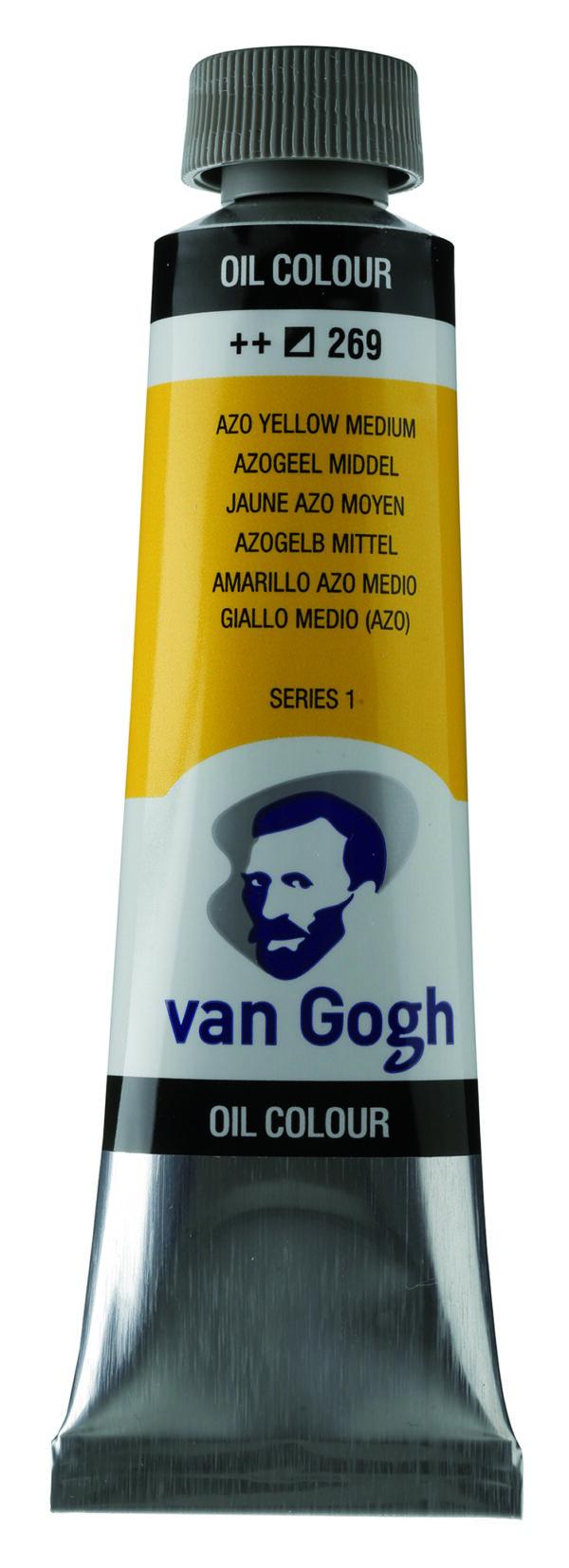 Van Gogh 269 Azo yellow Medium - 40 ml