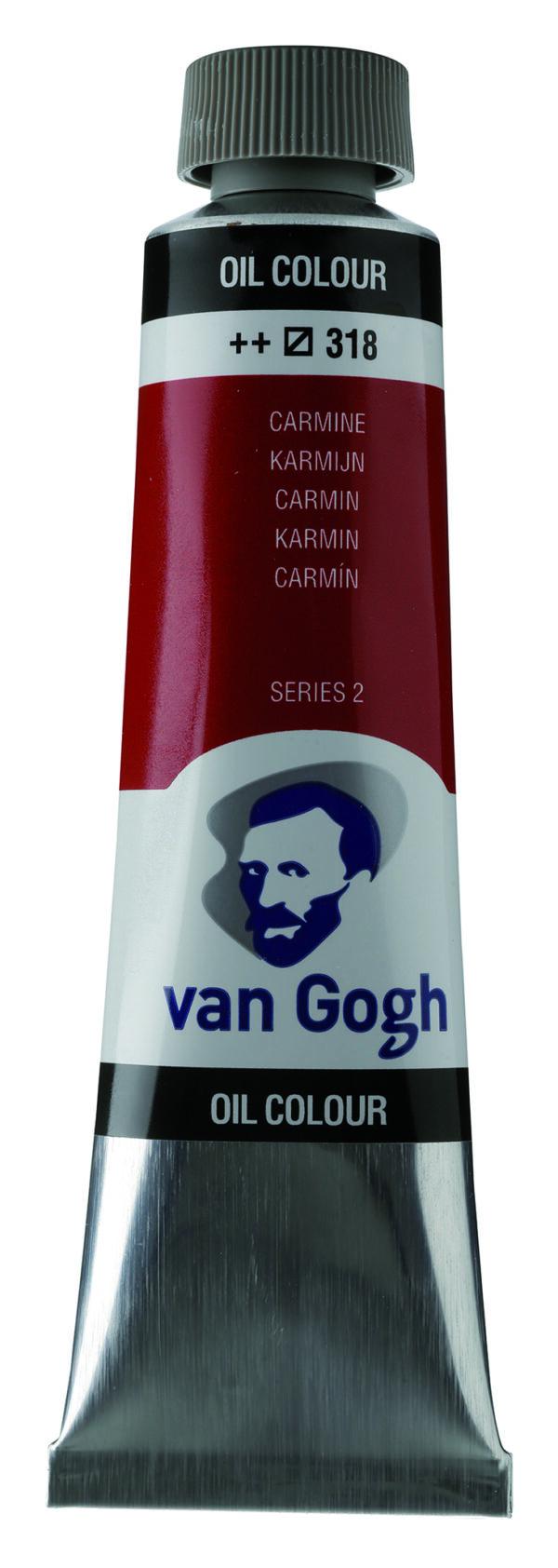 Van Gogh 318 Carmine - 40 ml