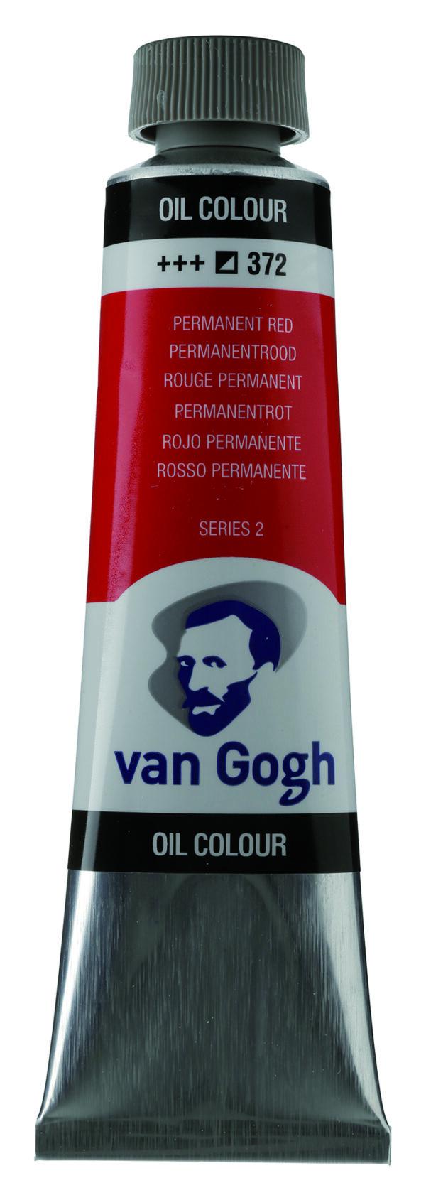 Van Gogh 372 Permanent red - 40 ml