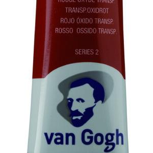 Van Gogh 378 transparent oxide red - 40 ml