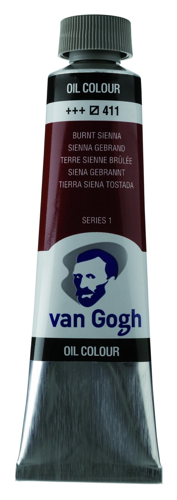 Van Gogh 411 Burnt sienna - 40 ml