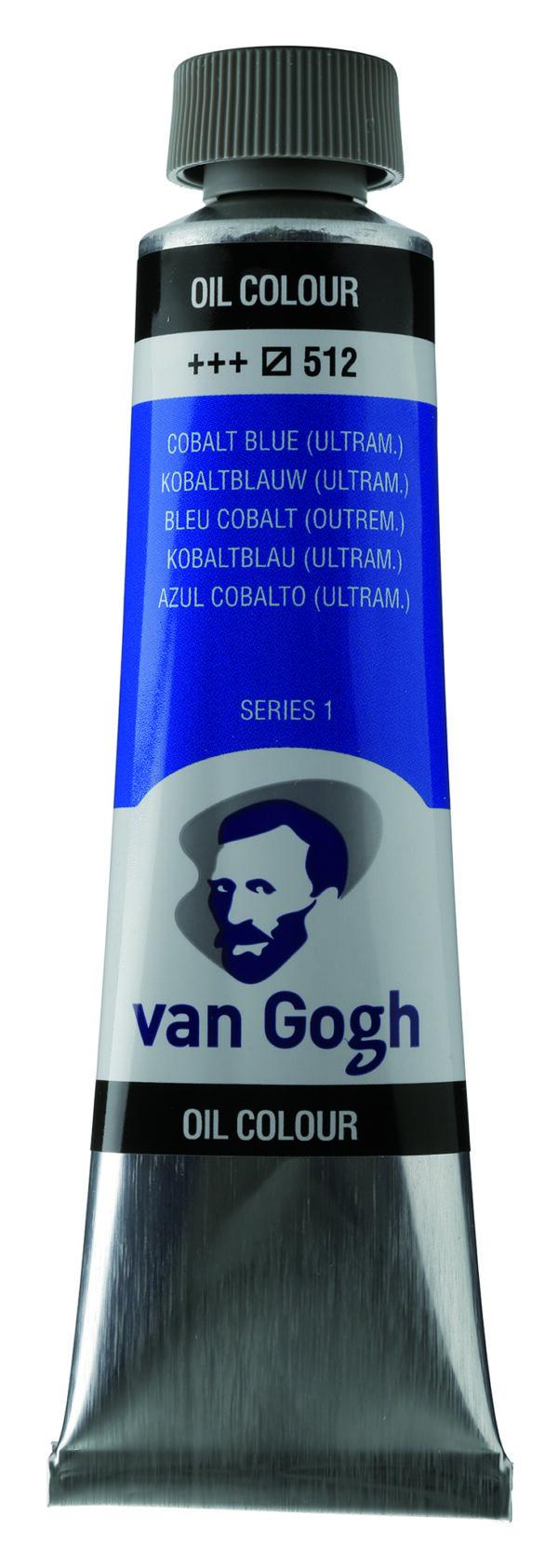 Van Gogh 512 Cobalt blue (ultramarine) - 40 ml