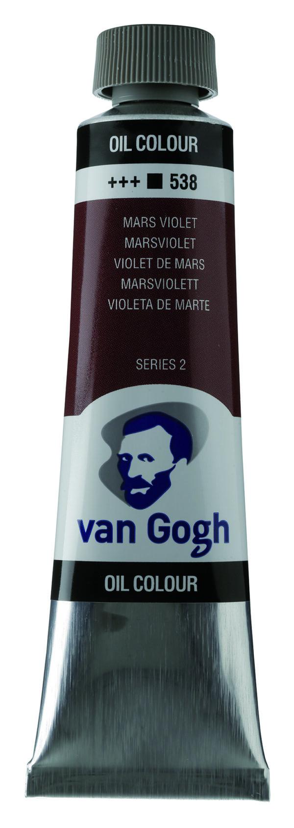 Van Gogh 538 Mars violet - 40 ml