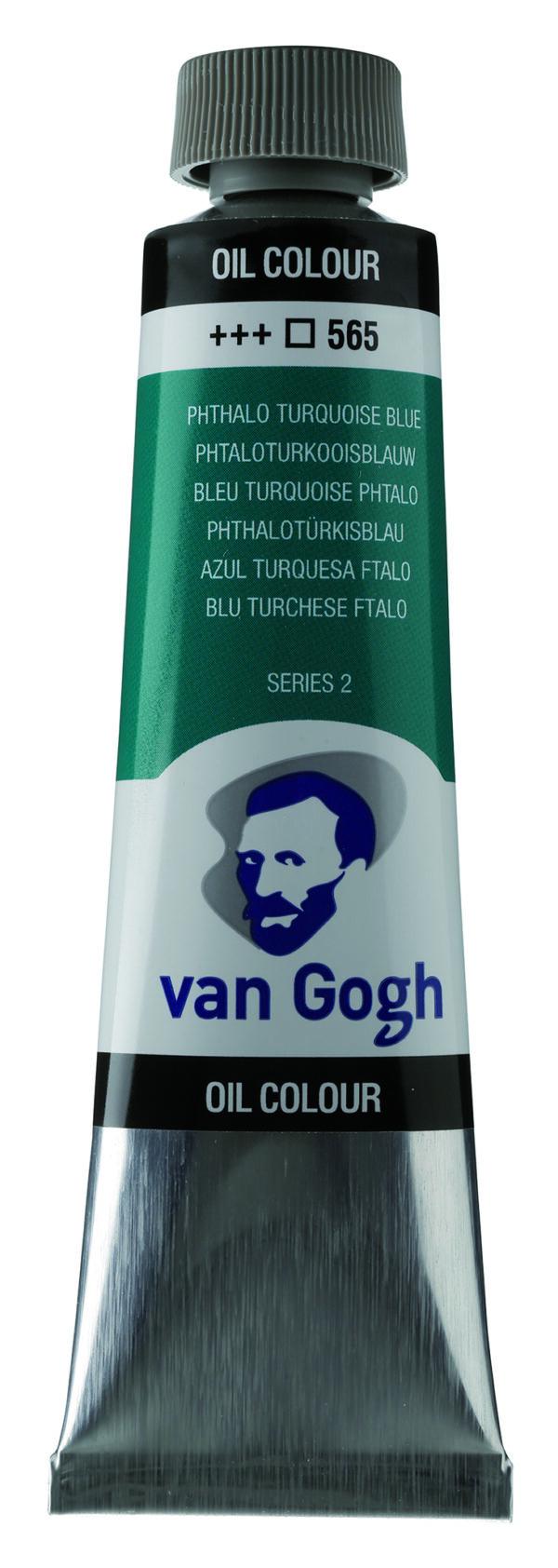 Van Gogh 565 Phthalo turquoise blue - 40 ml