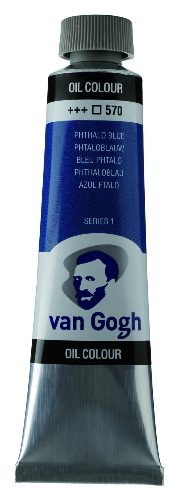Van Gogh 570 Phthalo blue - 40 ml