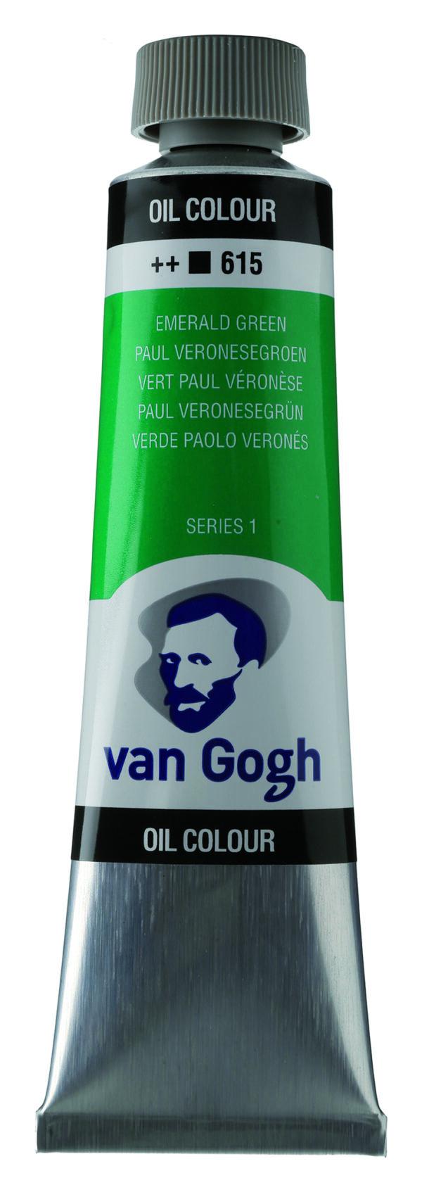 Van Gogh 615 Emerald green - 40 ml