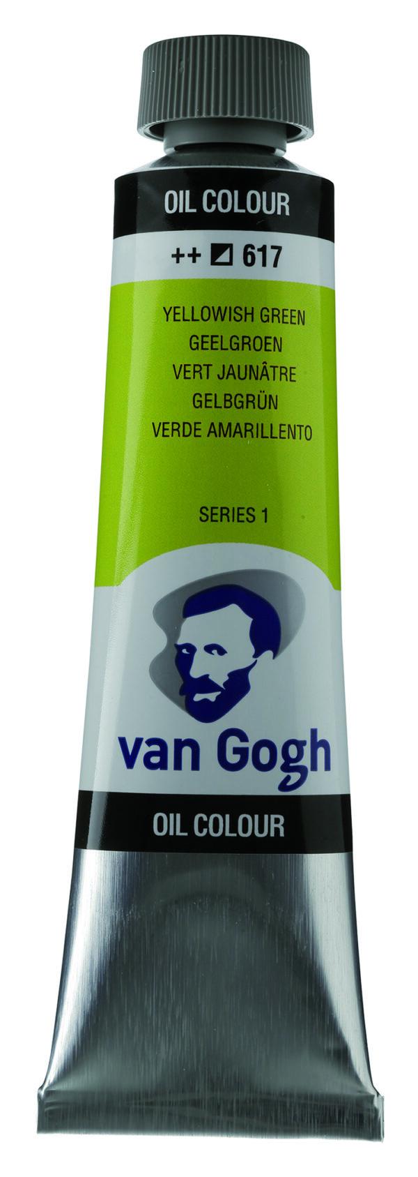 Van Gogh 617 Yellowish green - 40 ml