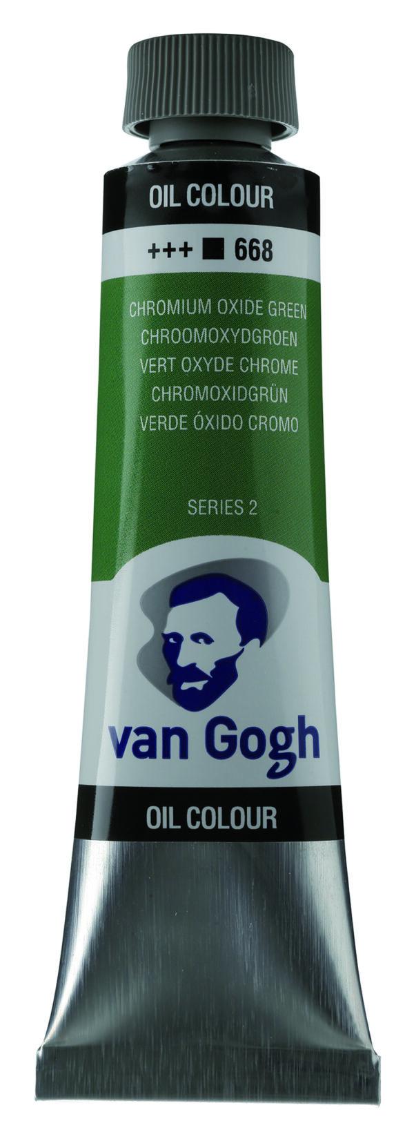 Van Gogh 668 Chromium oxide green - 40 ml