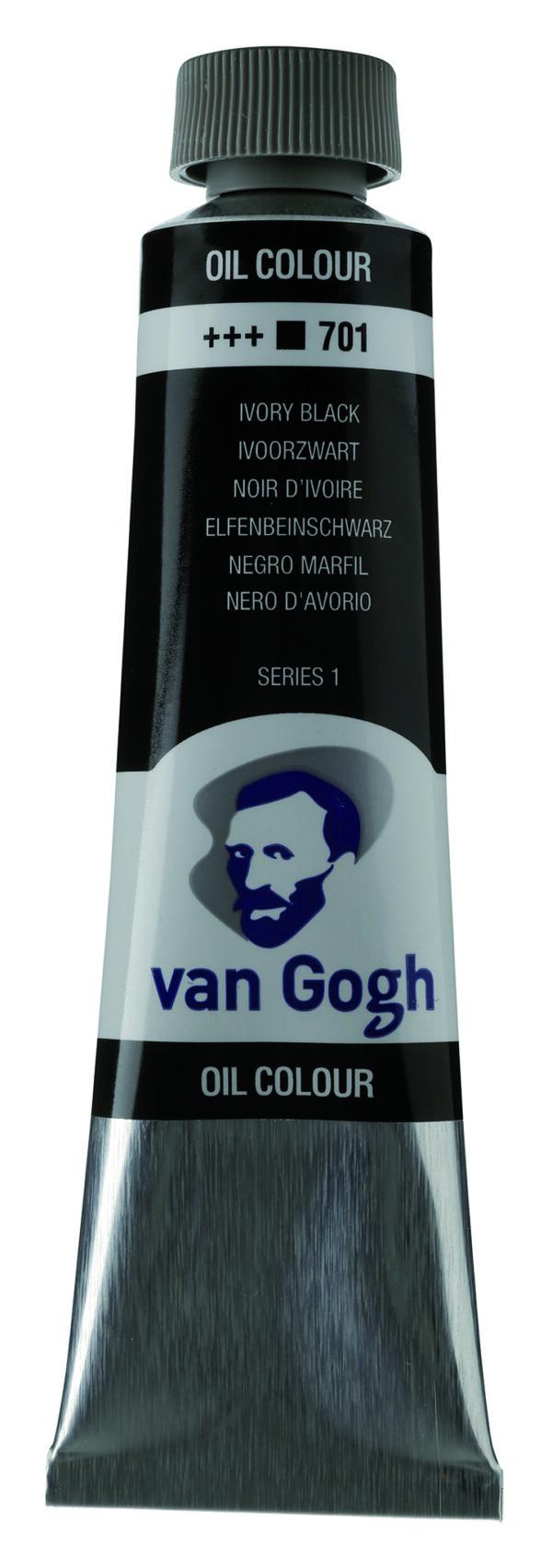Van Gogh 701 Ivory black - 40 ml