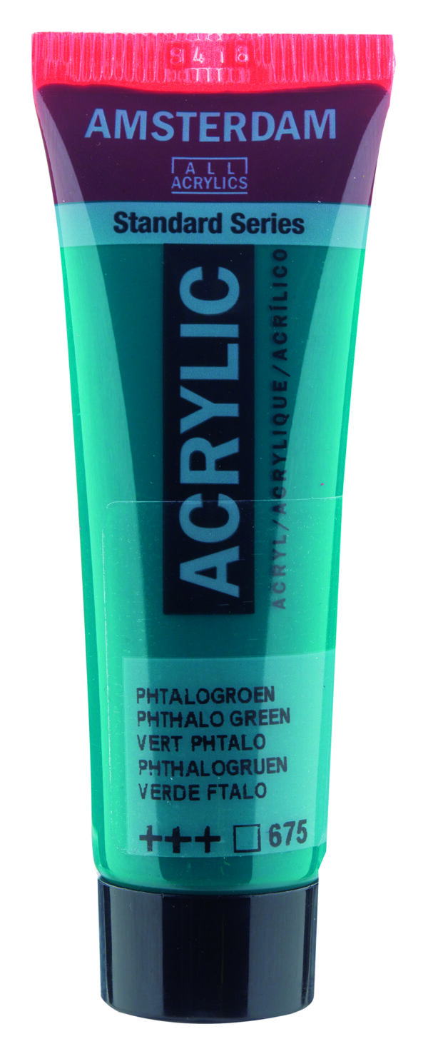 Ams std 675 Phthalo green - 20 ml