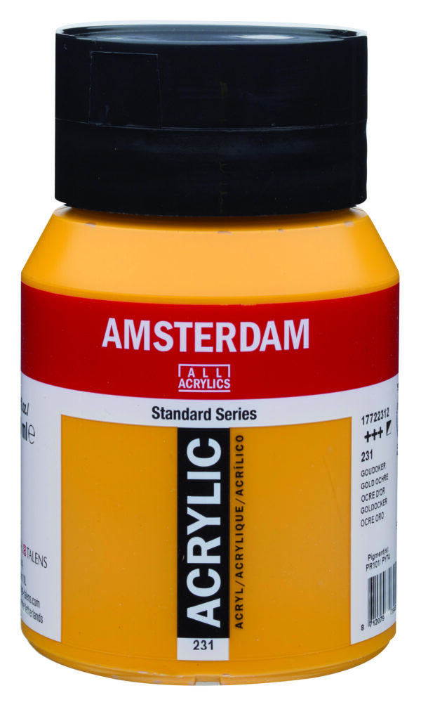 Ams std 231 Gold ochre - 500 ml