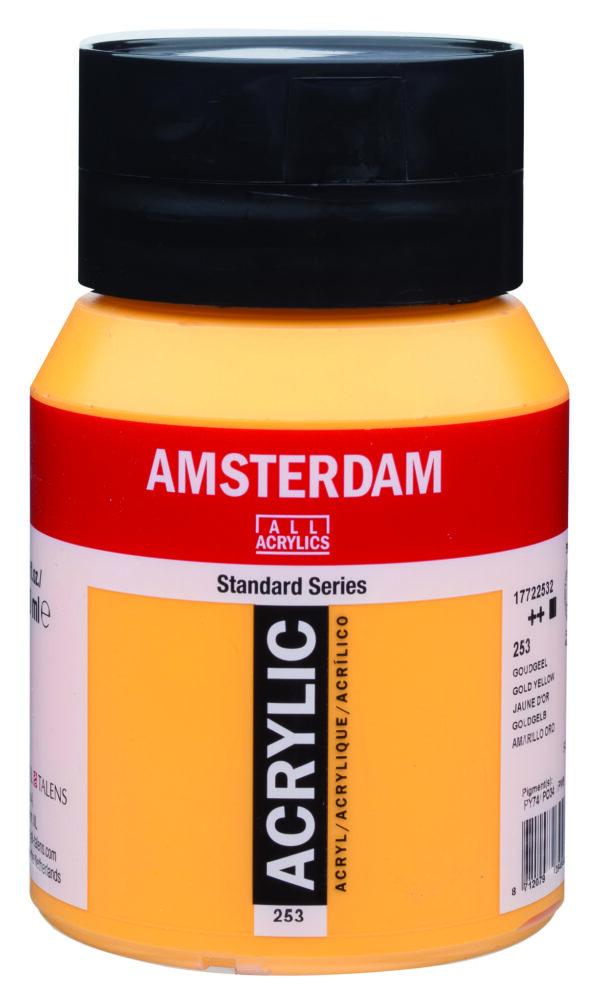 Ams std 253 Gold yellow - 500 ml