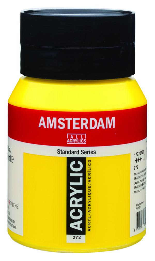 Ams std 272 Transparent yellow Medium - 500 ml