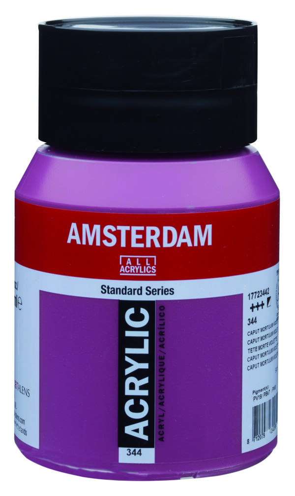 Ams std 344 Caput mortuum violet - 500 ml