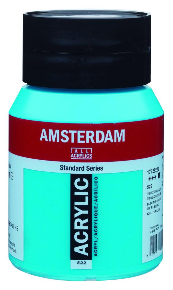 Ams std 522 Turquoise blue - 500 ml