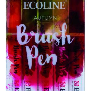 Ecoline Autumn Brush 5 Pen Set