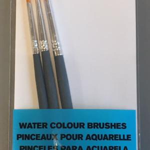 W&N Akvarel penselsæt - Runde - Str. 2-4-6